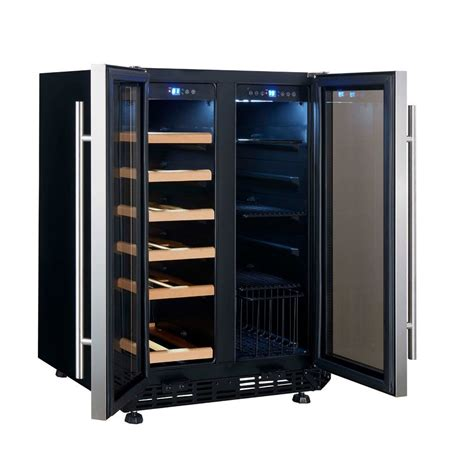 installing wine fridge in cabinet how to installing wine cooler cabinet loccie better