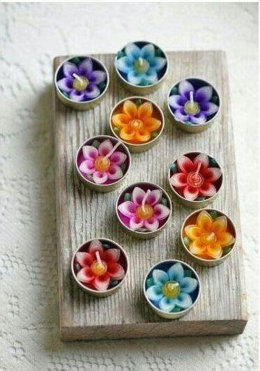 candele fiore candele con i fiori fotogallery donnaclick