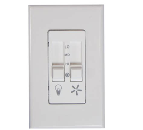 fan light dimmer switch 623lw ceiling fan speed and light dimmer switch