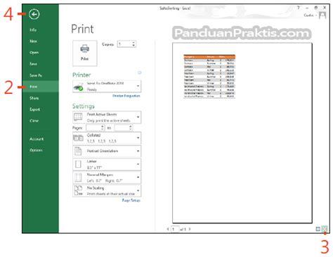 print layout view excel 2013 cara melihat preview worksheet sebelum mencetak di excel 2013
