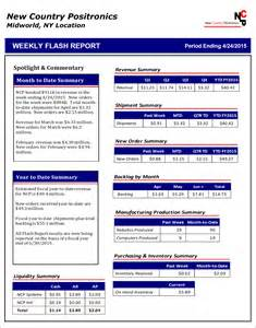 weekly flash report template weekly flash report template report template restaurant