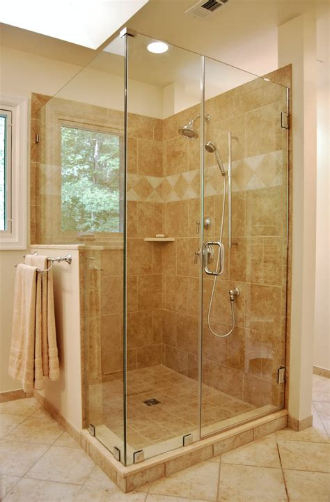 Wall Tile Designs Bathroom benefits of glass enclosed showers homesfeed
