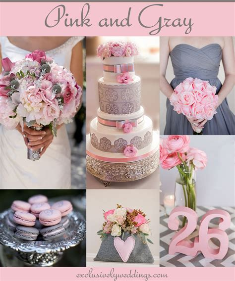 wedding color idea pink and grey white silver oooo now your wedding colors pair pink with a neutral for a groom