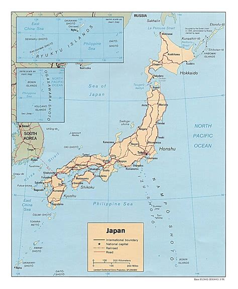 map of the world japan japan