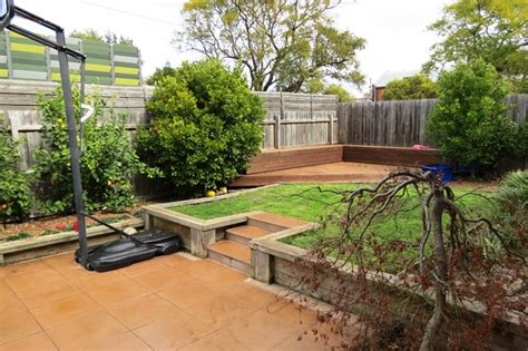 renovate backyard modern backyard renovation featuring no nail decking no