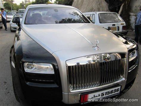 roll royce pakistan rolls royce ghost spotted in lahore pakistan on 03 19 2013