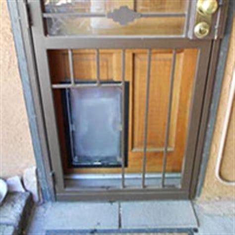 Secure Doggie Door by Door Installs Doggie Door Door Company Albuquerque