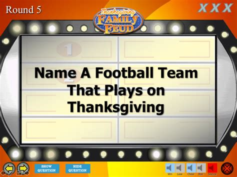 Thanksgiving Family Feud Trivia Powerpoint Game Mac And Pc Compatible Youth Downloadsyouth Family Feud Mac