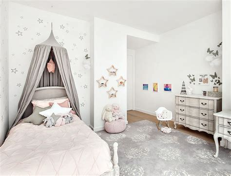 pink and grey girls bedroom girls bedroom in light pink gray and white decoist