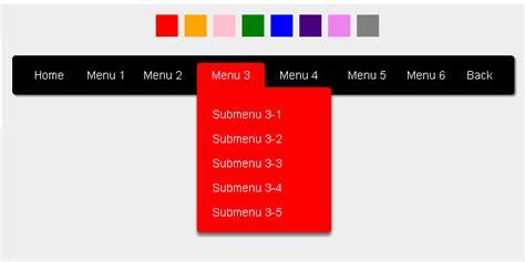 tutorial css navigation menu css3 menu and navigation tutorials shpend berisha
