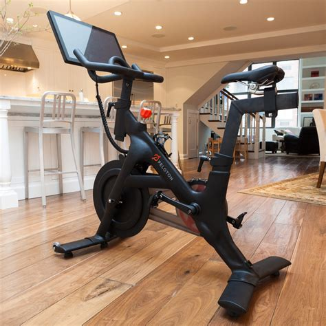android powered peloton exercise bike surpasses
