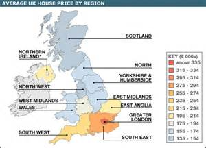 Price In Uk The West Of Leading National House Price