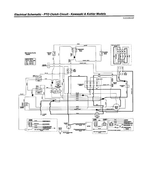with wiring diagram for a craftsman mower wiring