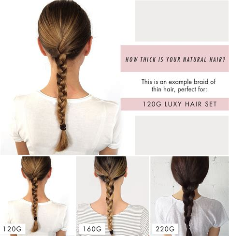 hair extensions for thin hair in salt and pepper how to choose the right thickness of luxy hair extensions