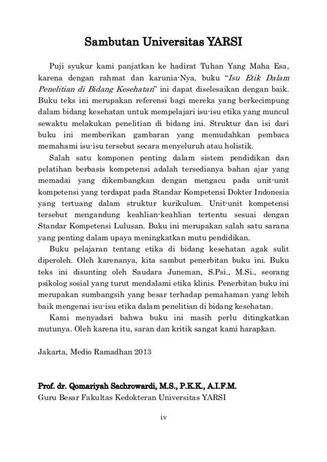 biokima klinis teks bergambar ed 4 isu etik dalam penelitian di bidang kesehatan