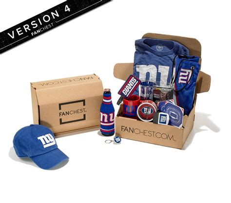 gifts for giants fans ny giants gift box new york giants gifts fanchest