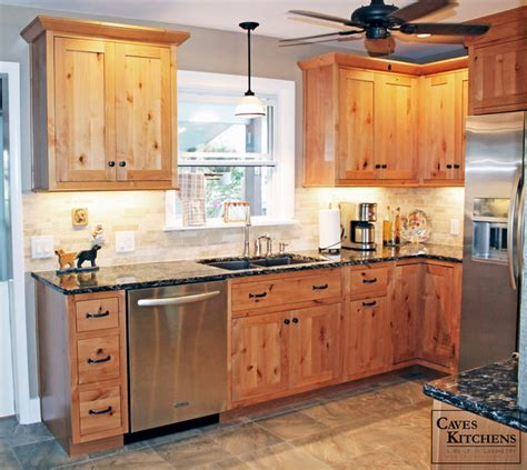 rustic alder kitchen cabinets rustic knotty alder kitchen with weathered beams rustic