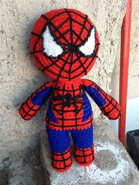 spiderman pattern knitting spiderman crochet knit cartoon book heroes pinterest