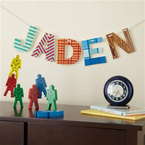 Craftdrawer Crafts Make Wall Letters For A Child S Wall Letters For Room
