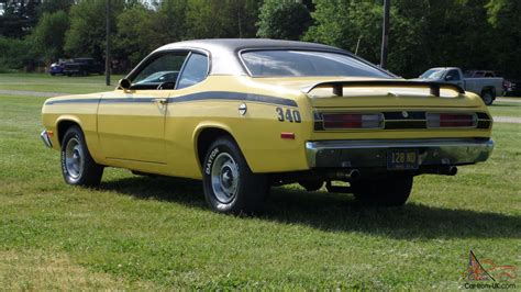 1972 plymouth duster 340 look affordable reliable mopar see video cruise night