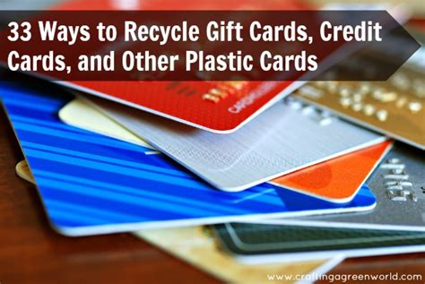 Recycle Gift Cards - diy crafts 33 ways to recycle gift cards credit cards and other plastic cards