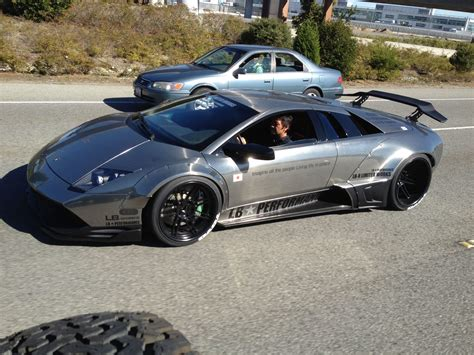 Never too late: widebody for the Lamborghini Murciélago