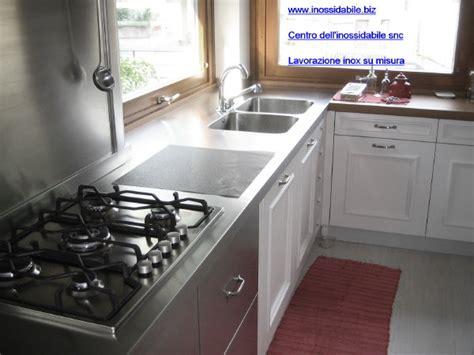piano cucina in acciaio emejing piano cucina acciaio inox images home interior