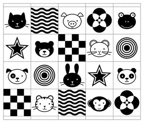 black and white pattern for babies 34 best infants visual stimulation images on pinterest