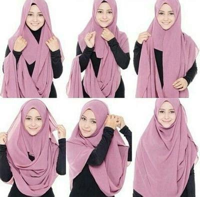 tutorial hijab segi empat tetap syar i tanpa ribet coba tutorial hijab syar i yang kurang dari 5