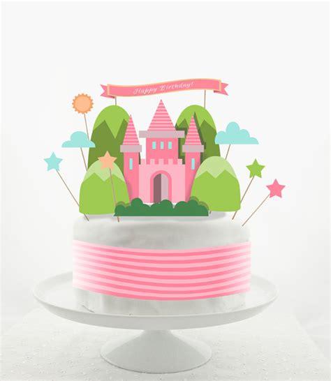 printable birthday cake decorations cake topper set cake decorations printable diy
