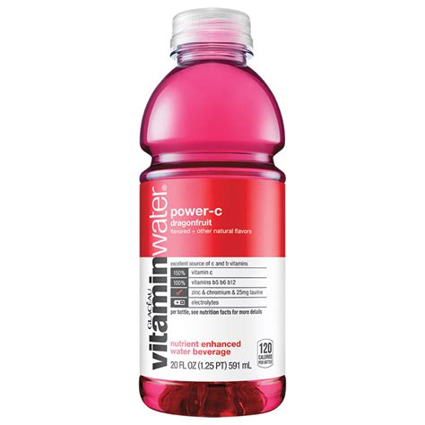 Vitamin Water Power C 20oz   Prestige Services   Vending Machines   Bottled Water   Micro