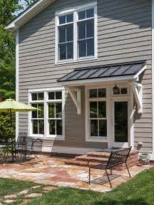 Awnings For Doorways Back Door Awning Home Design Ideas Pictures Remodel And