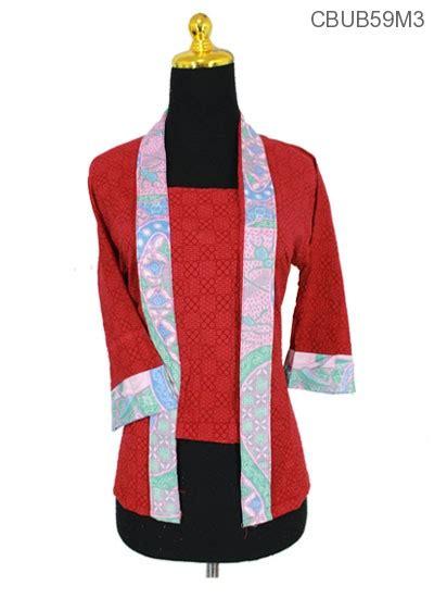 Sale Kutubaru blus kutubaru tanggung motif ceplok boto blus lengan