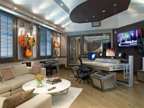 Recording Studio Interior by Interior Designer Sassaman Exudes Quot Lifestyle