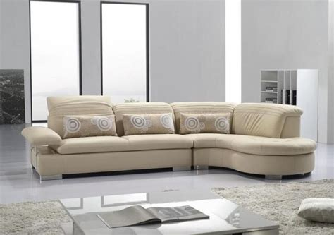 Modern Sectionals Sofas by Advanced Adjustable Modern Leather L Shape Sectional With
