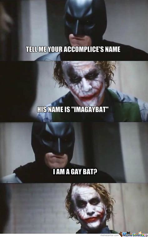 the joker 1 batman 0 by fringe meme center
