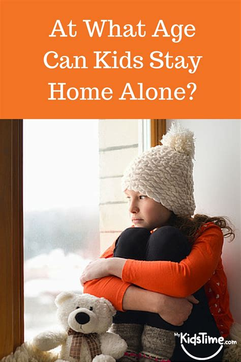 at what age can stay home alone