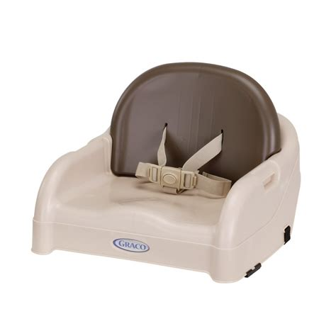 booster seat amazon com graco blossom booster seat brown tan