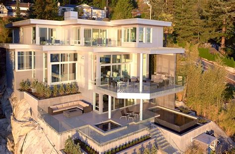 Address Available Upon Request West Vancouver Homes And Waterfront House Plans In Beautiful Columbia