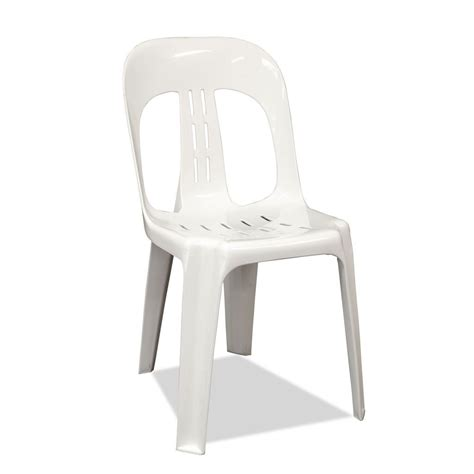 White Plastic Stackable Chairs plastic stacking chairs barrel white nufurn