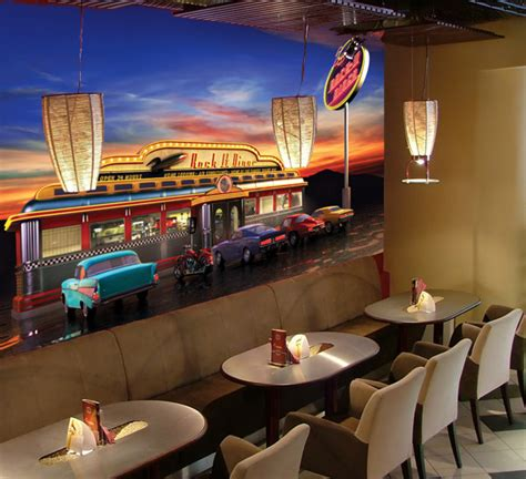 3d Wall Stickers Online retro american diner