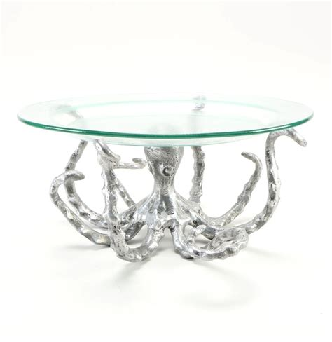 Octopus Coffee Table With Detailed Sculpture Roy Home Design Octopus Coffee Table