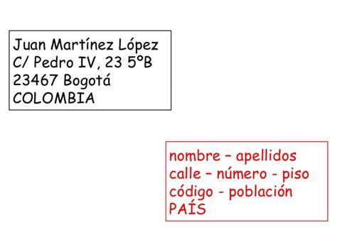como poner la direccion en un sobre c 243 mo escribir un sobre y poner la direcci 243 n en espa 241 a