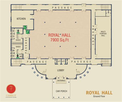banquet hall floor plan camelot convention centre royal hall offer king size