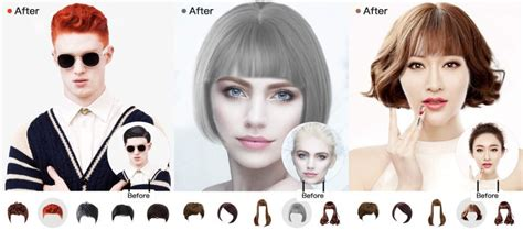 Try Hairstyles App by Best Hairstyle Apps 2018 For And To Try New Hair