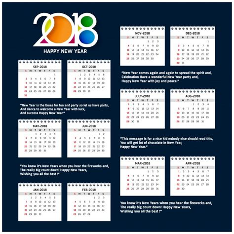 calendario 2018 plantilla 28 images as 237 ser 225 el