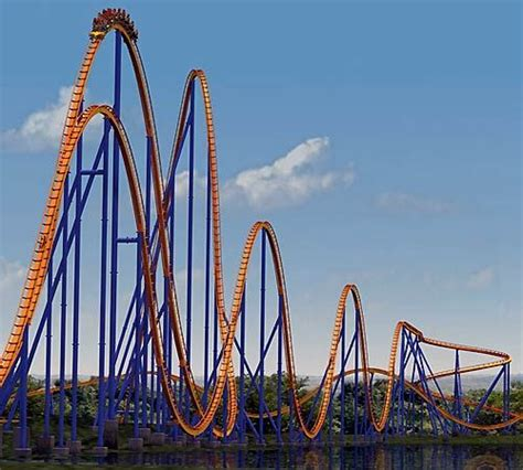 9 Rankers Of The Roller Coaster World by Best 25 Roller Coasters Ideas On Roller