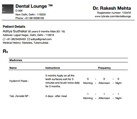 dental invoice template dental invoice sle rabitah net