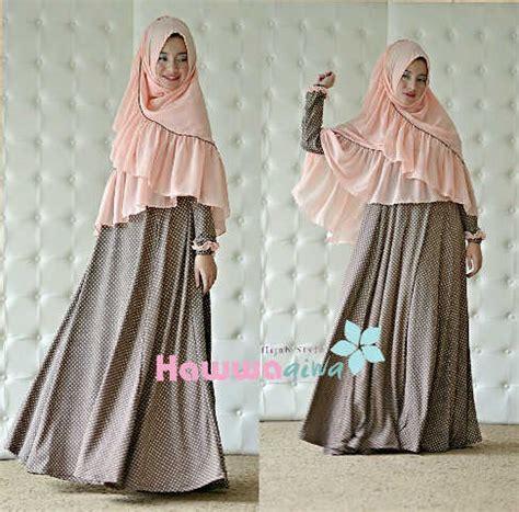 Dress Wanita Fahira grosir baju muslim wanita gaun pesta muslim pusat busana
