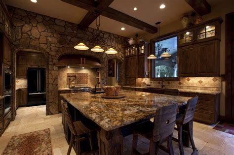 rustic kitchens designs 20 beautiful rustic kitchen designs